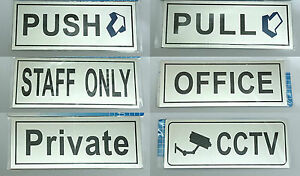 New Customer Advisory Notice For Office, Shop & Business Signs Self Adhesive UK