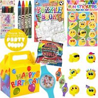 Kids Pre Filled Childrens Boys Girls Party Bags Boxes For Birthday Gifts V12