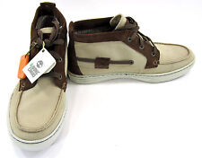 Timberland Boat Shoes Earthkeepers Moc Toe Chukka Khaki/Brown Boots Size 8.5