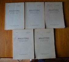 LOTTO 5 LIBRI BOLLETTINO SOCIETA STUDI STORICI ARCHEOLOGICI ARTISTICI CUNEO 1973