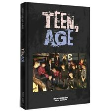 Seventeen-[Teen,Age] RS Ver 2nd Album CD+Poster(On)+Book+Card+Stand