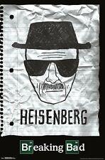 BREAKING BAD - HEISENBERG POSTER - 22x34 - TV 17845