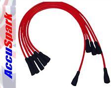 AccuSpark Rojo 8mm Alto Rendimiento Silicona Cables HT para Ford Pinto motores
