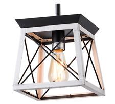 XIPUDA Farmhouse Pendant Light Fixture Kitchen Island Lighting Industrial Metal
