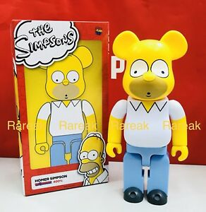 Medicom 400% Bearbrick The Simpsons Homer Simpson 20th Century Fox Be@rbrick