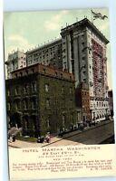 Hotel Martha Washington 29 East 29th Street New York NY Vintage Postcard A92