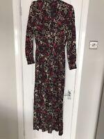 m&s collection ladies jumpsuit uk size 12 regukar fit BNWT £55 floral print pret