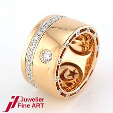 Al Coro Ring 750/18K Rotgold mit Diamanten 0,90 ct - 16,8 g - NEU - UVP 5.459,-