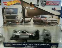 Hot Wheels Team Transport Nissan Skyline GT-R Aero Lift #12