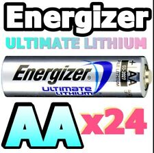 *EXPIRY 2037* 24 x AA ULTIMATE LITHIUM BATTERIES L91 1.5v TOP QUALITY WORLD No.1
