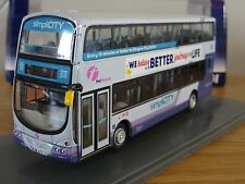 CORGI OOC FIRST GLASGOW WRIGHT ECLIPSE GEMINI BUS MODEL OM41227B 1:76
