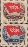 Rumänien 1697-1698 (kompl.Ausg.) gestempelt 1958 Streik