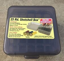 MTM Case-Gard S25D-41 Shotshell Box w/Flip Top for 25 Shotgun Cartridges 12 BORE