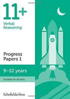 11+ Verbal Reasoning Progress Papers Book 1: KS2, Ages 9-12 by Patrick Berry, Sc