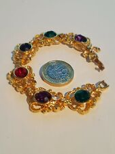 Gold Plated Crystal Bracelet