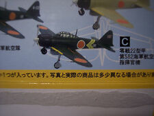 Japanese Zero Fighter Plane F-toys 1:144/12mm Factory Painted Model Airplane Kit