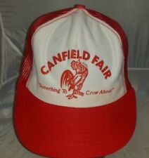 VTG Canfield Fair Something to Crow About Ohio Snapback Trucker Hat Cap A2