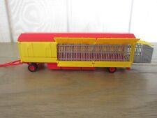 Remorque cage transport fauves cirque 1/87 HO H0