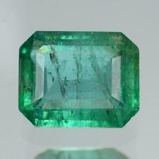 4.90 cts ! Sparkling ! 100% Natural Nice Green Color Zambia Emerald
