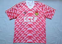 CCCP EURO 88 JERSEY - VINTAGE ADIDAS SHIRT - MAILLOT URSS - RARE AUTHENTIC USSR