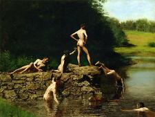 Thomas Eakins-NUOTO - 24' Canvas