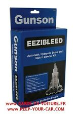 Gunson Eezibleed G4062 Kit de purge d'embrayage et de frein hydraulique
