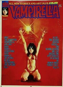 VAMPIRELLA #31 Warren Publishing Master Cover UNPUBLISHED Proof  MARCH 1974 #WA
