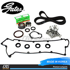 Gates Timing Belt Water Pump Kit Valve Cover Gasket for Hyundai Elantra Tiburon