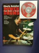 Power Drums: The Way I Play by Charly Antolini