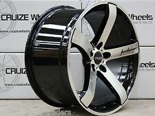 "18"" bmf blade alloy wheels fit alfa 159 cadilac bls fiat croma saab 9-3 9-5"