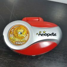 Neopets Pocket Tonu Tiger Portable Player Figure 2002 Electronic Handheld Game