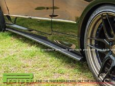 DP Style Carbon Fiber Side Skirts Lip Fit W207 E250 E350 E550 Coupe 2009-2013