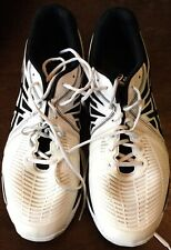 ASICS Volleyball Shoes US14 GEL-NETBURNER BALLISTIC LO TVR479 White Black (31cm)
