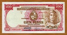 Uruguay, 100 Pesos, L. 1939 P-39b, VF +