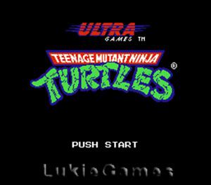 Teenage Mutant Ninja Turtles - Tmnt NES Nintendo Game