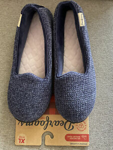 NWT Dearfoams Women Slippers. Size XL ( 11-12 ). Details In Pics. Free Shipping
