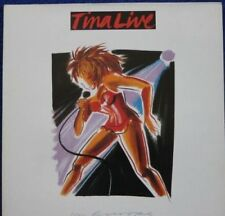 TINA TURNER LIVE in EUROPE Double LP Near Mint with inner Made in England 1988