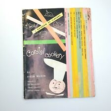 Vintage 1955 A Rainbow of Flavors Cordial Cookery by Hiram Walker Drink Recipes