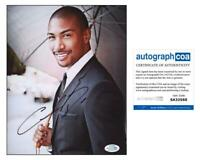 "Charles Michael Davis ""The Originals"" AUTOGRAPH Signed 'Marcel' 8x10 Photo D"