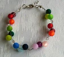 Perlen Armband Modeschmuck Polaris mehrfarbig NEU