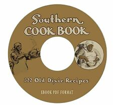 Southern Cookbook Black Mammy-Old Dixie Recipes-CD PDF-Kindle-iPhone Compatible