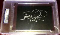 SIDNEY POITIER Academy Award Winning OSCAR Movie actor signed autograph Auto PSA