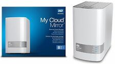 Western Digital WD My Cloud MIRROR 8 TB External Red Hard Drives WDBWVZ0080JWT
