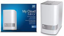 Western Digital WD My Cloud MIRROR 8 TB External Red Hard Drives WDBZVM0080JWT