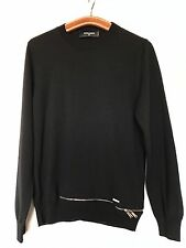 DSQUARED2 Sweater Pullover 100% Wool Laine - Made in Italy - Authentic - T: XS