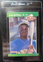 1989 DONRUSS THE ROOKIES #3 KEN GRIFFEY JR ROOKIE CARD SEATTLE MARINERS HOF