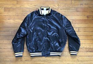 Vintage 1980s Scale Auto Enthusiast Magazine Aristo Jac Black Satin Jacket