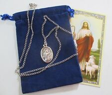St. Gabriel, Archangel Saint Medal with 24 Inch Necklace