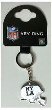 NEW York Giants Los Angeles Rams NFL INTERNAZIONALE SERIE ARGENTO CASCO Portachiavi