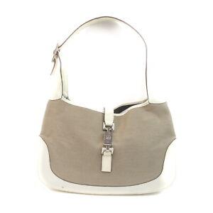 Gucci Shoulder Bag  Beiges Canvas 2306098